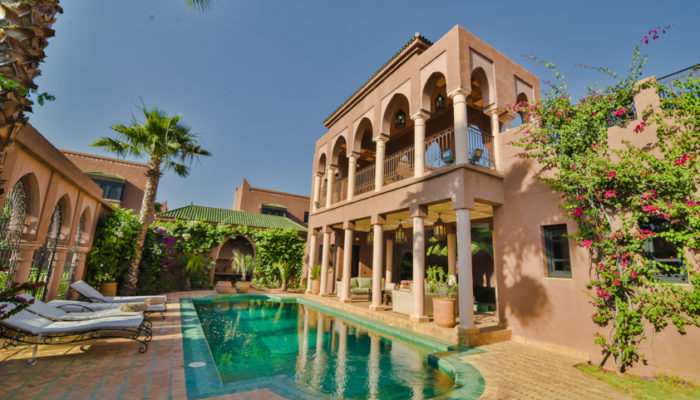 LOCATION RENT VILLA MARRAKECH PALMERAIEDAR LAMIA villa